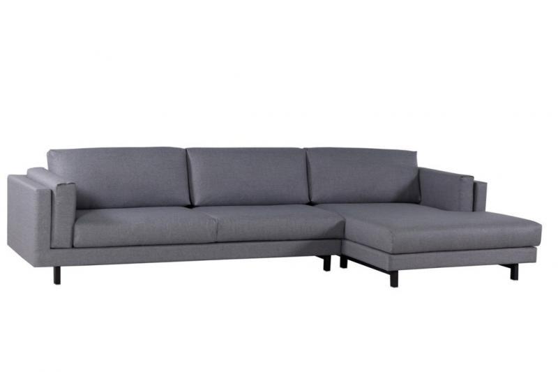 Sofá com chaise sob medida